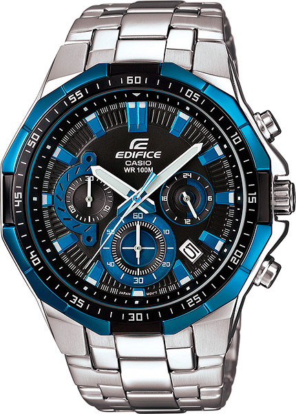 Casio Edifice EFR-554D-1A2 часы casio efr 549d 1a2