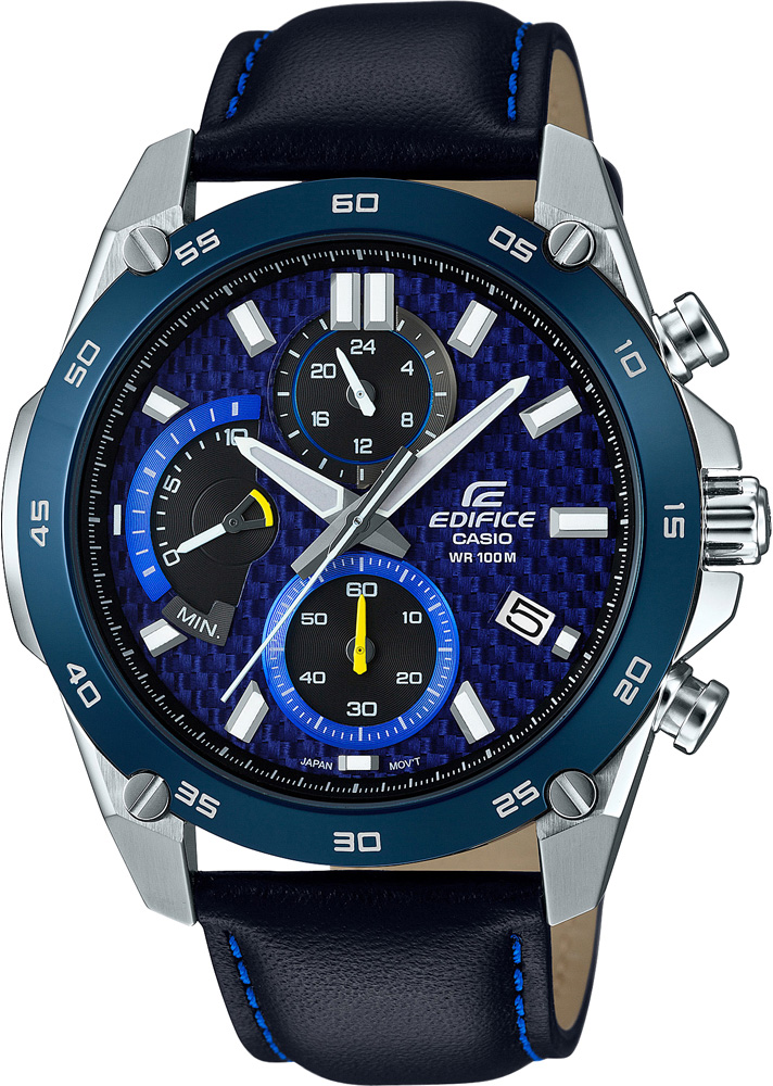 Casio Edifice EFR-557BL-2A casio часы casio efr 539rb 2a коллекция edifice infiniti red bull racing