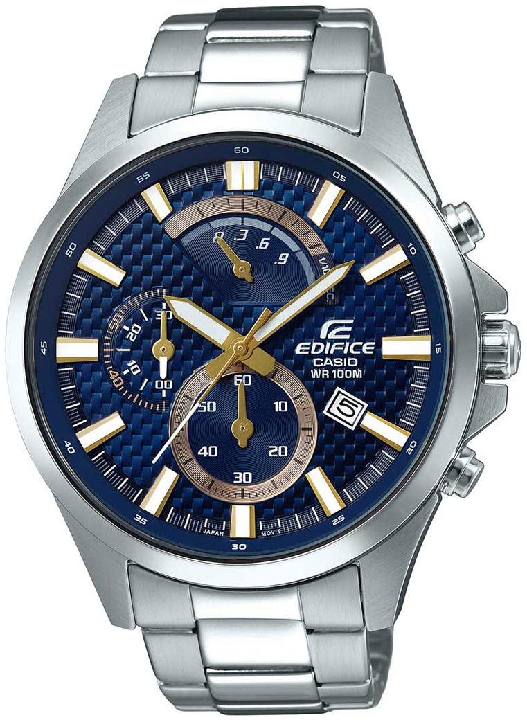 Casio Edifice EFV-530D-2A casio mtd 1082d 2a