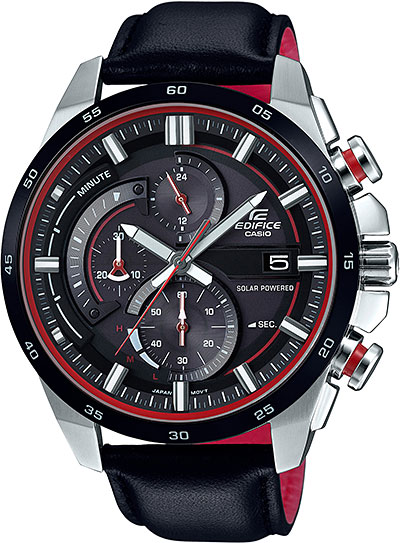 Casio Edifice EQS-600BL-1A мужские часы casio eqs a1000db 1a