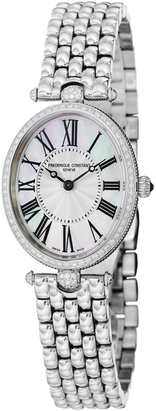 Frederique Constant Art Deco FC-200MPW2VD6B trendy embroideried broken hole macrame denim shorts for women