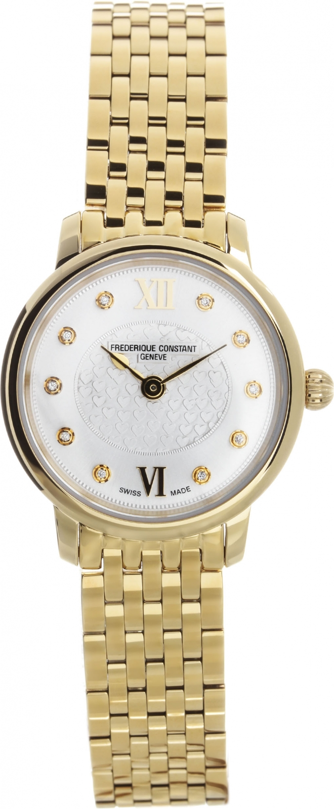 Frederique Constant Slim Line Ladies FC-200WHDS5B frederique constant ladies automatic fc 310whf2pd4