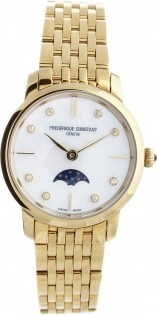 Frederique Constant Slim Line Moonphase FC-206MPWD1S5B