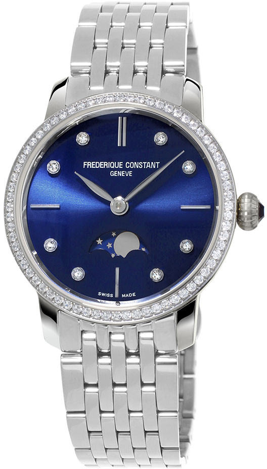 Frederique Constant Slim Line Moonphase FC-206ND1SD26B frederique constant persuasion fc 310cdhb2pd4