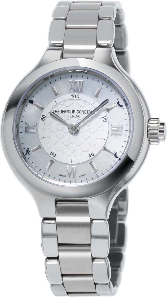 Frederique Constant Horological Smartwatch FC-281WH3ER6B frederique constant heart beat fc 310hbad2pd6