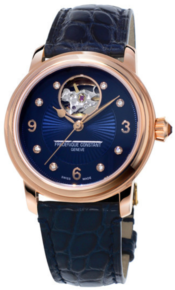 Frederique Constant Heart Beat Automatic FC-310HBAND2P4 frederique constant ladies automatic fc 310whf2pd4