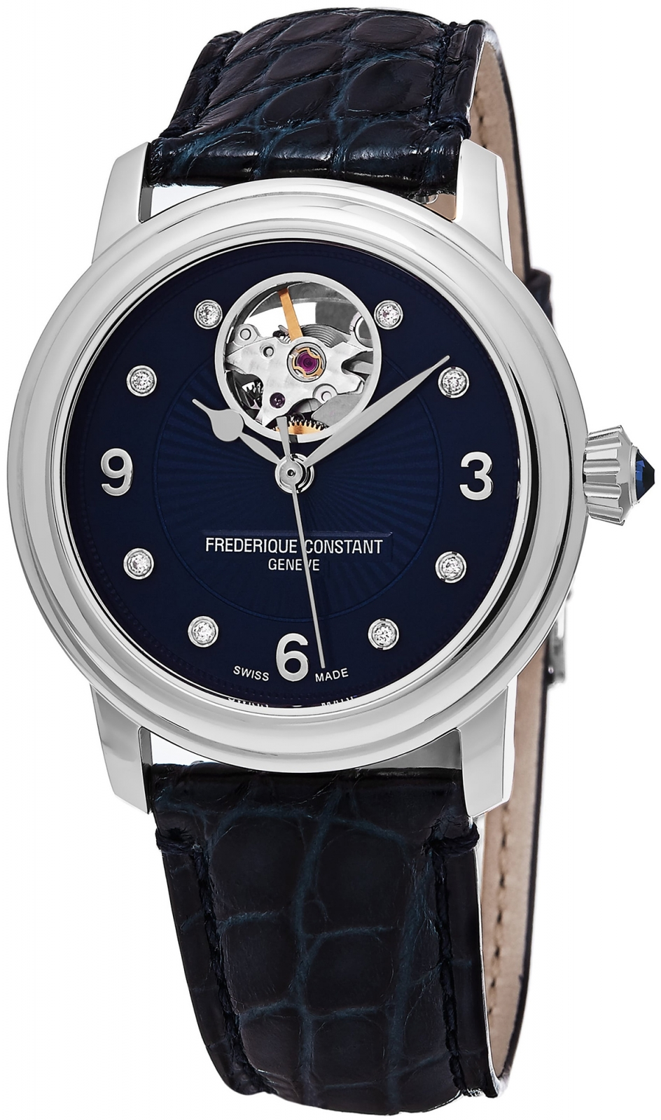 Frederique Constant Heart Beat Automatic FC-310HBAND2P6 frederique constant ladies automatic fc 310whf2pd4