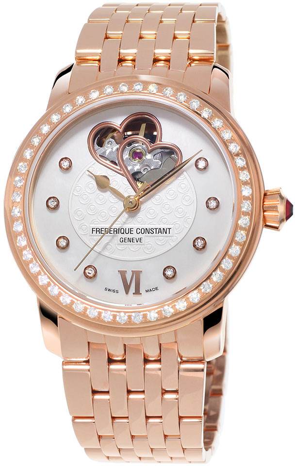 Frederique Constant World Heart Federation FC-310WHF2PD4B3 frederique constant ladies automatic fc 310whf2pd4