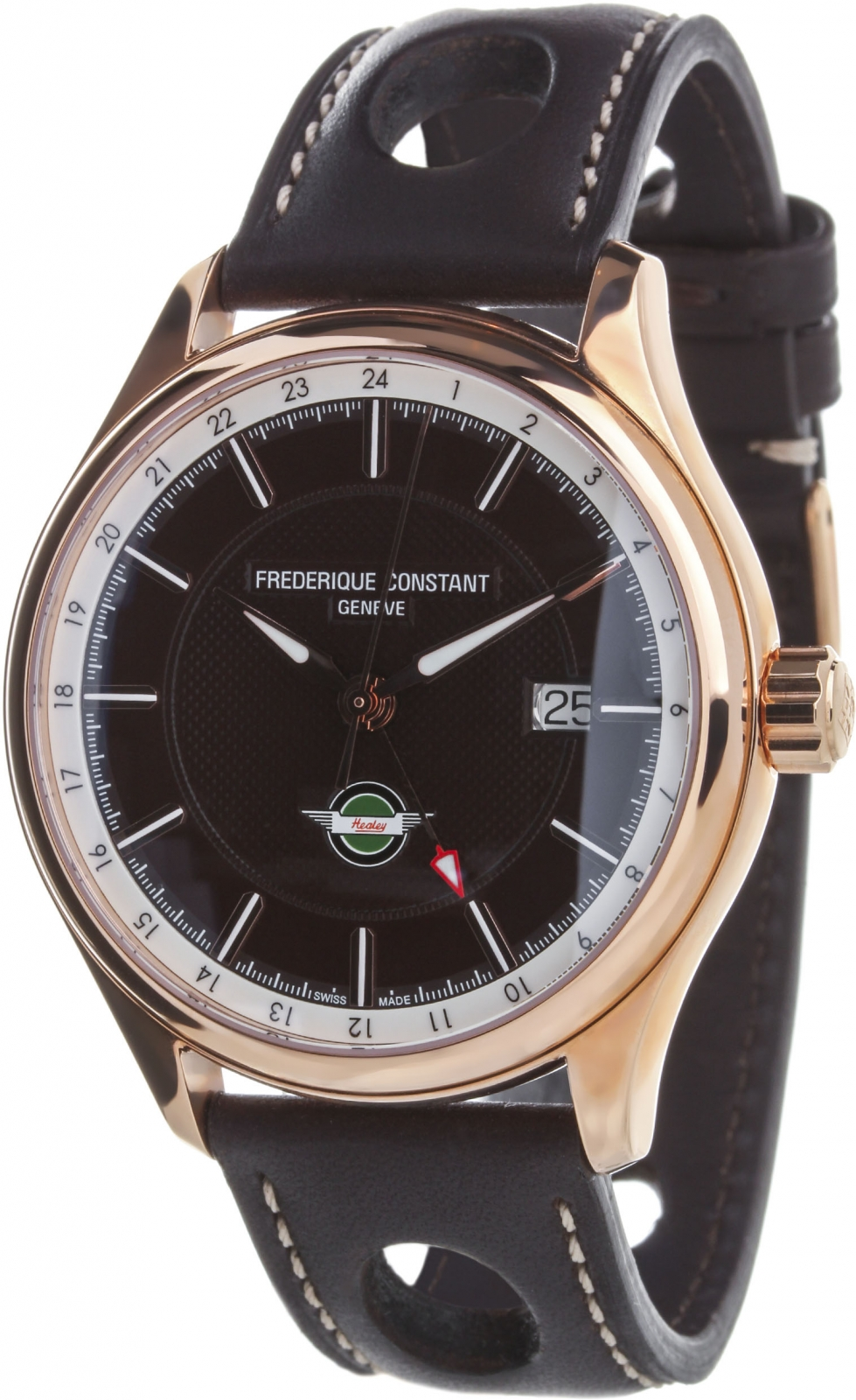 Frederique Constant Vintage Rally GMT FC-350CH5B4 frederique constant classics index gmt fc 350s5b6