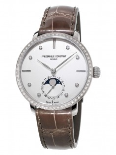 Frederique Constant Manufacture Slim Line Moonphase FC-703SD3SD6
