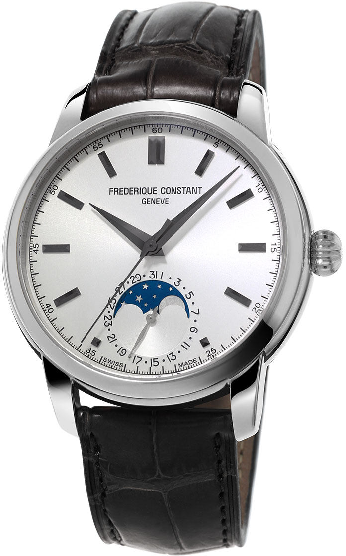 Frederique Constant Classics Moonphase FC-715S4H6 часы chanel j12 moonphase 38mm
