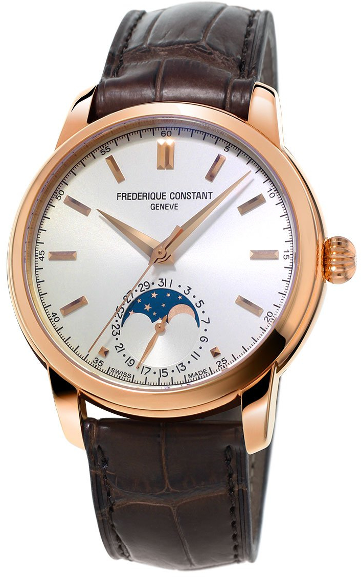 Frederique Constant Classics Moonphase FC-715V4H4 часы chanel j12 moonphase 38mm