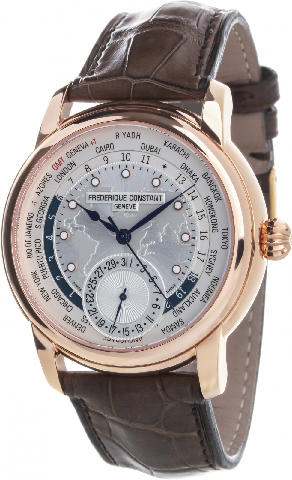 Frederique Constant Manufacture Worldtime FC-718WM4H4 frederique constant manufacture worldtimer fc 718nwm4h6