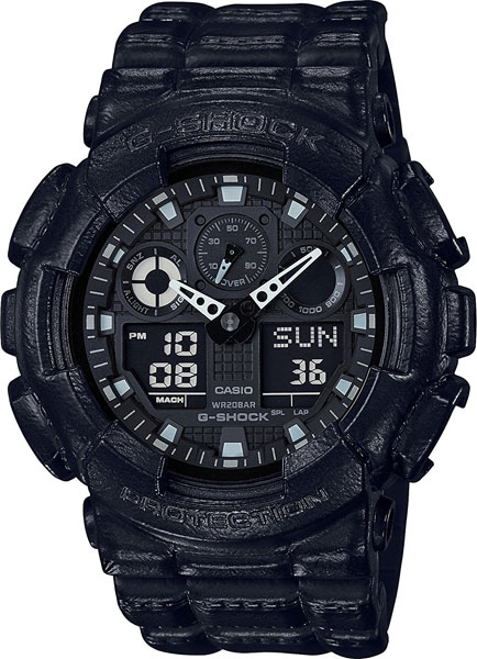 Casio G-shock GA-100BT-1A casio g shock ga 800 1a