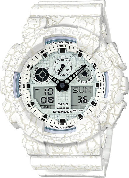 Casio G-shock G-Specials GA-100CG-7A casio g shock ga 110tp 7a