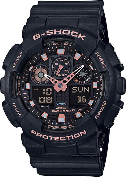 Casio G-shock GA-100GBX-1A4 casio часы g shock ga 100 1a4