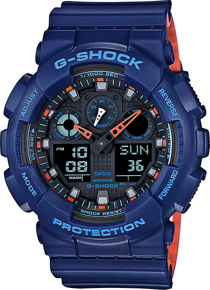 Casio G-shock GA-100L-2A casio ga 100l 8a