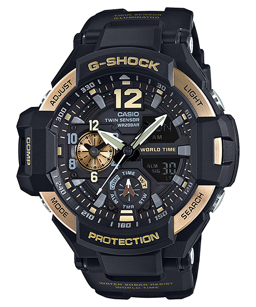Casio G-Shock GA-1100-9G от Консул