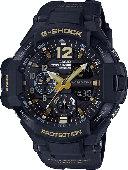 Casio G-shock Gravitymaster GA-1100GB-1A casio ga 400gb 1a9