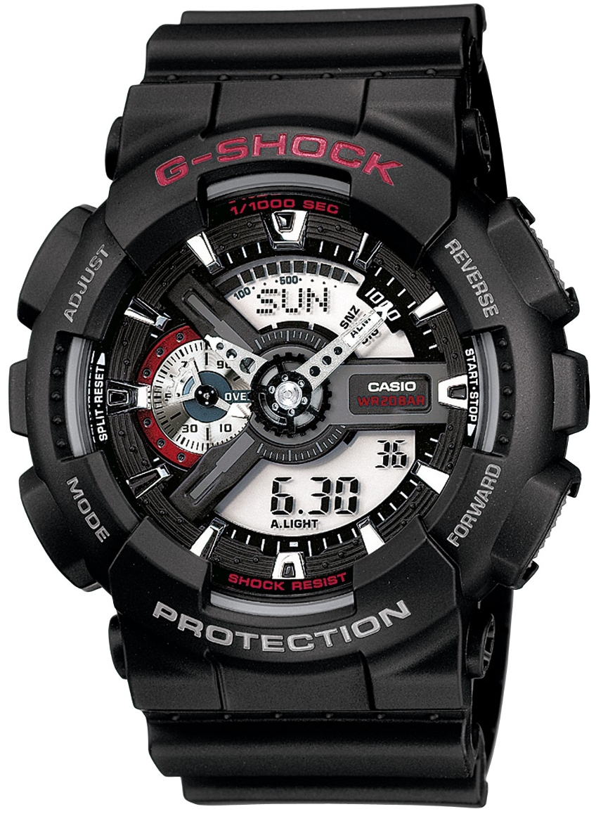 Casio G-shock GA-110-1A часы casio g shock ga 110gb 1a