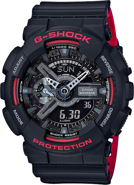 Casio G-shock GA-110HR-1A часы casio g shock ga 110mb 1a black