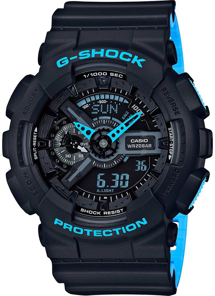 Casio G-shock GA-110LN-1A casio g shock ga 150 1a