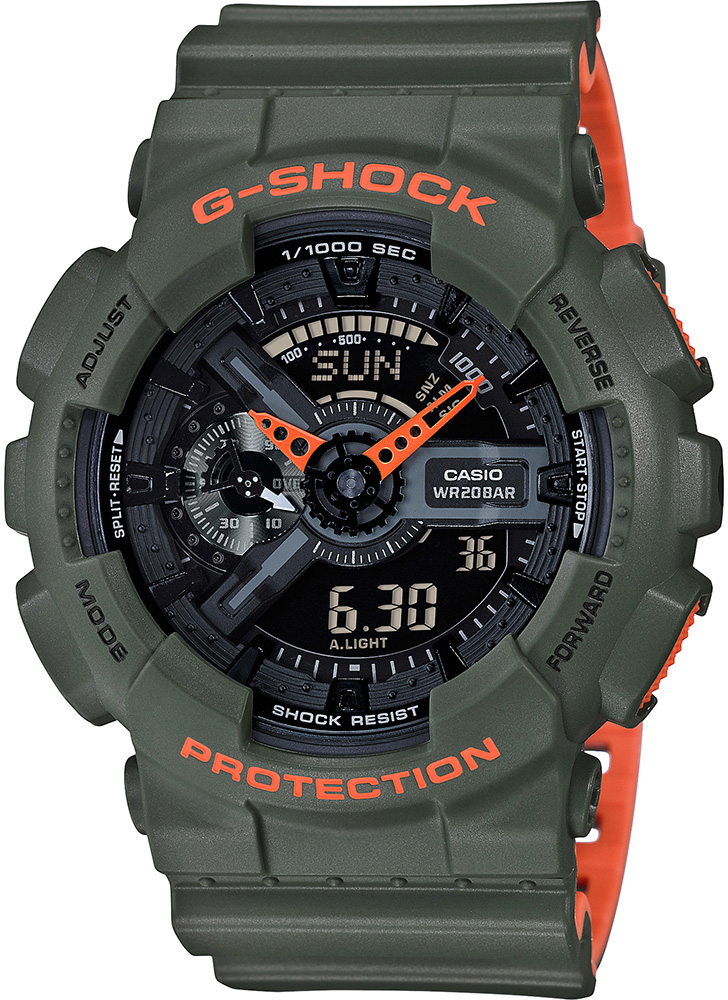 Casio G-shock GA-110LN-3A casio g shock ga 110ln 1a