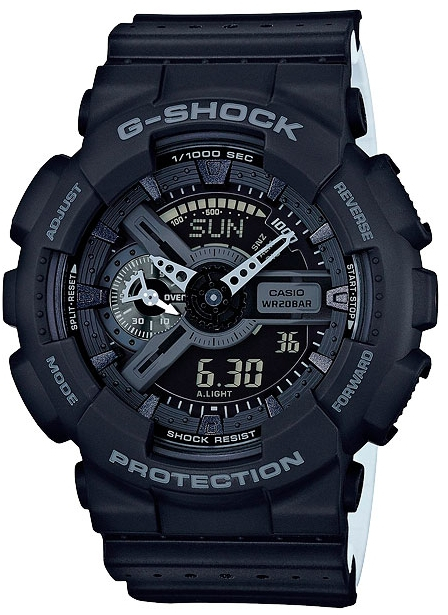 Casio G-shock Punching Pattern GA-110LP-1A часы casio g shock ga 110mb 1a black