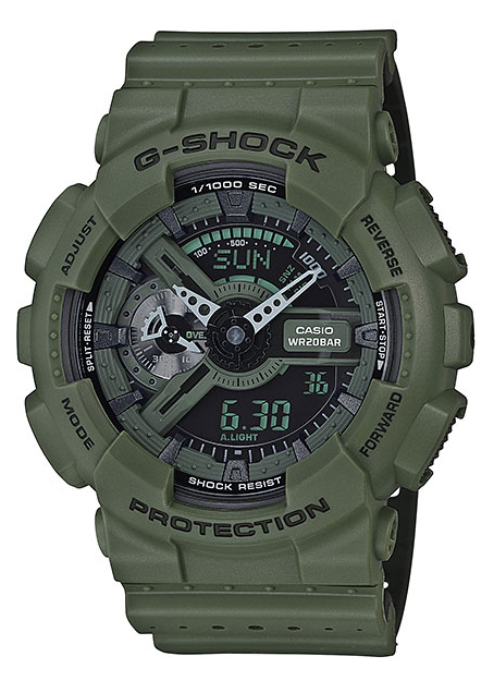 Casio G-shock Punching Pattern GA-110LP-3A