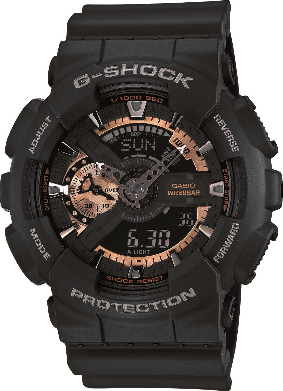 Casio G-shock GA-110RG-1A тушь для ресниц max factor false lash effect epic mascara 01 цвет 01 black variant hex name 000000 вес 20 00