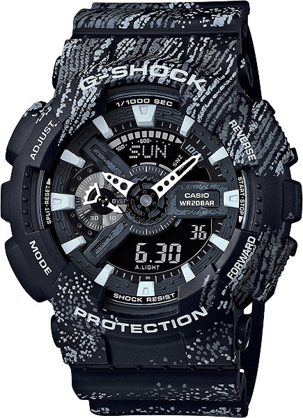 Casio G-shock GA-110TX-1A тушь для ресниц max factor false lash effect epic mascara 01 цвет 01 black variant hex name 000000 вес 20 00