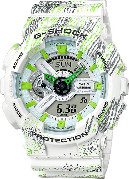 Casio G-shock GA-110TX-7A casio часы casio ga 110tx 1a коллекция g shock