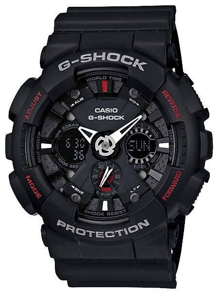 Casio G-shock GA-120-1A casio g shock ga 100l 1a