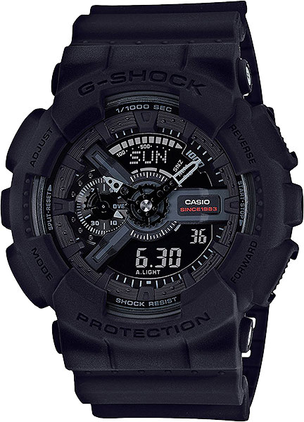 Casio G-shock GA-135A-1A часы casio g shock ga 110gb 1a