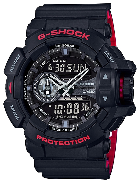 Casio G-shock GA-400HR-1A часы casio g shock ga 110gb 1a