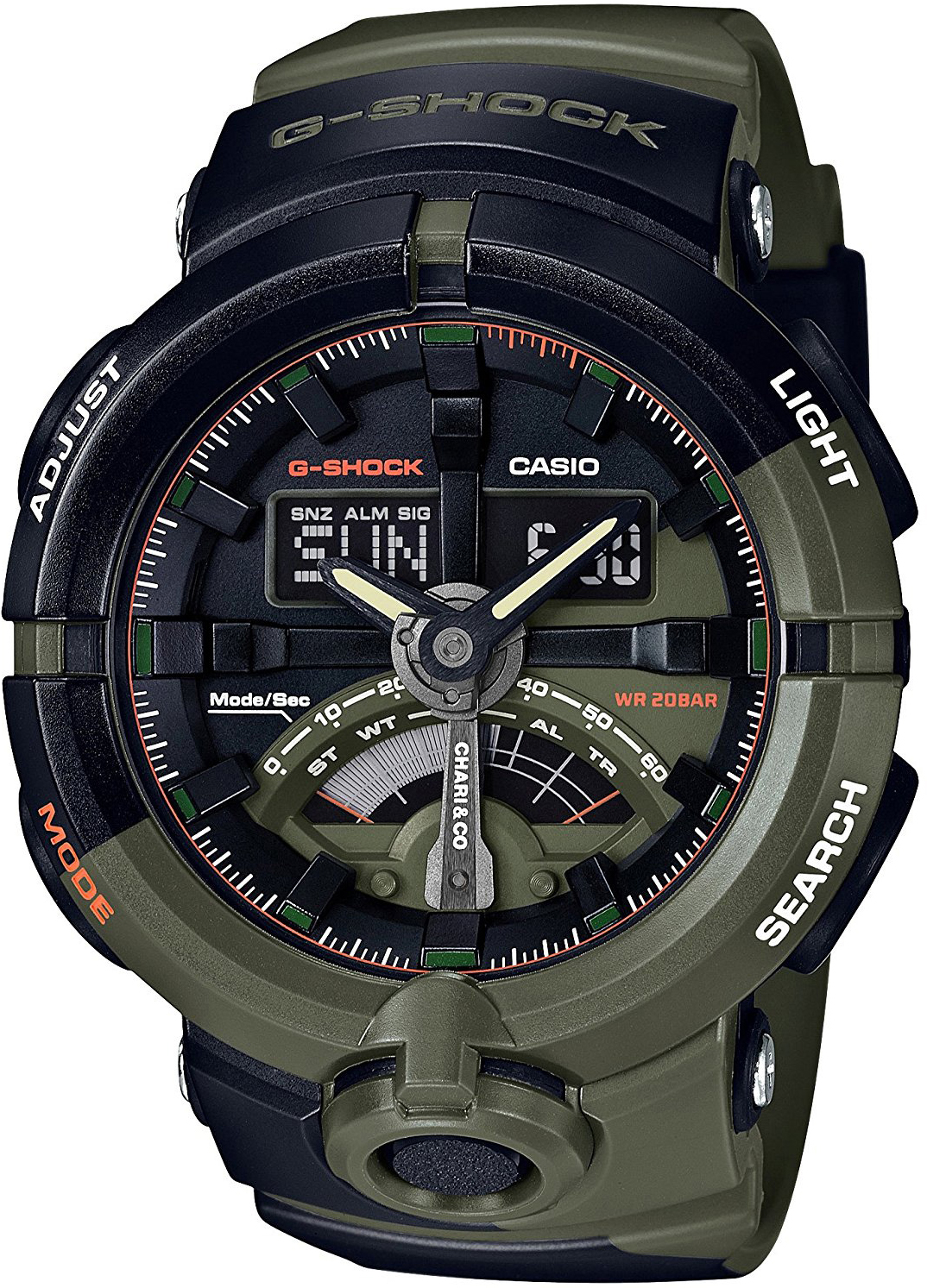 Casio G-shock Chari & Co GA-500K-3A