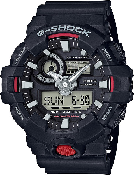 Casio G-shock GA-700-1A часы casio g shock ga 110gb 1a