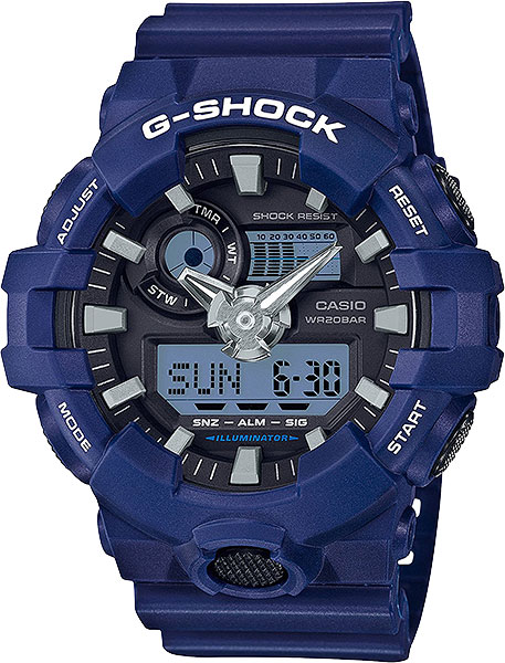Casio G-shock GA-700-2A casio g shock ga 110tp 7a