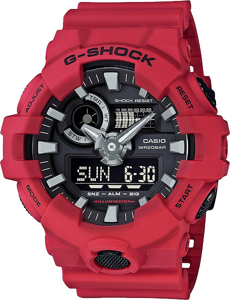 Casio G-shock GA-700-4A casio g shock ga 110tp 7a