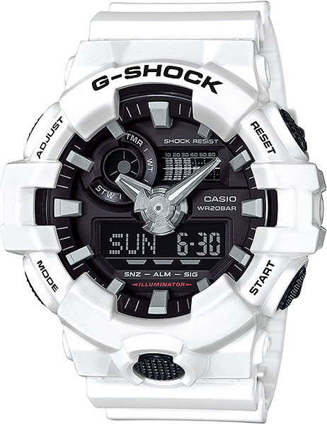 Casio G-shock GA-700-7A часы наручные casio часы sheen she 3034spg 7a