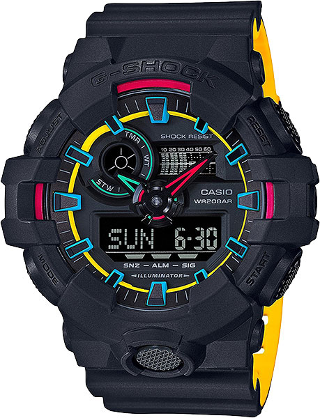 Casio G-shock GA-700SE-1A9 casio g shock ga 100cf 1a9