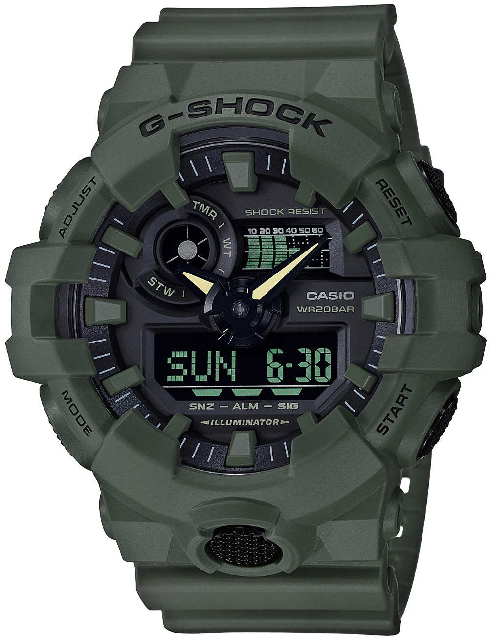 купить Casio G-shock GA-700UC-3A в интернет-магазине