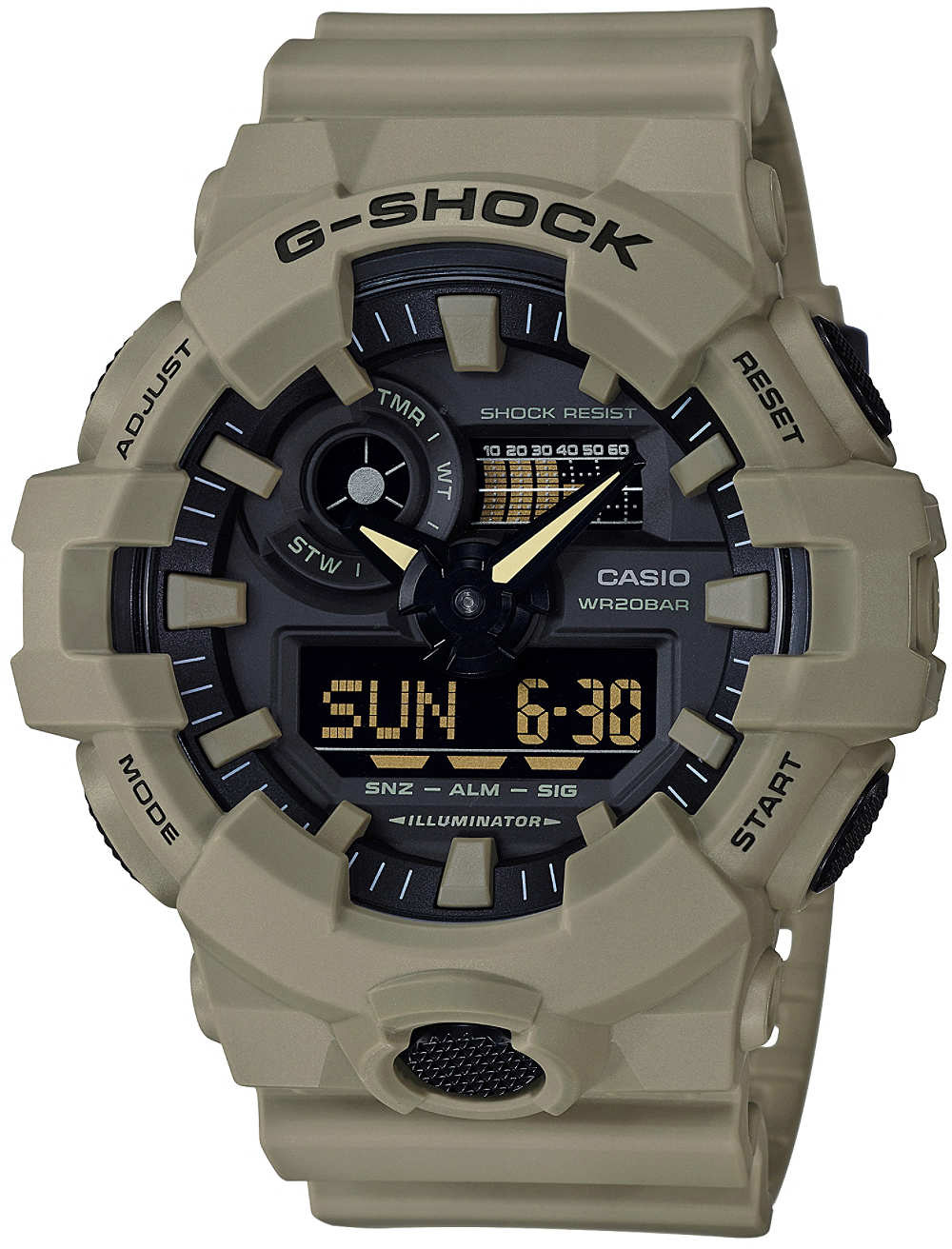 Casio G-shock GA-700UC-5A casio g shock ga 110tp 7a