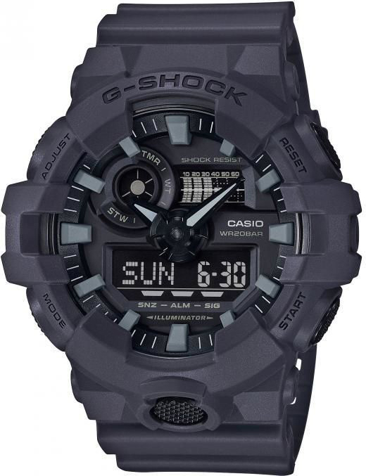 Casio G-shock GA-700UC-8A casio часы casio ga 110sl 8a коллекция g shock