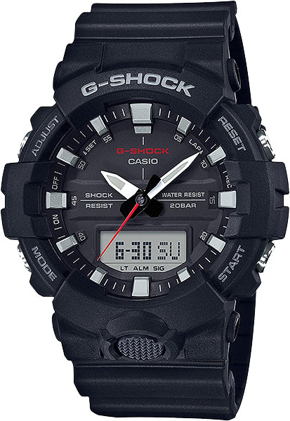 Casio G-shock GA-800-1A casio g shock ga 110tp 7a