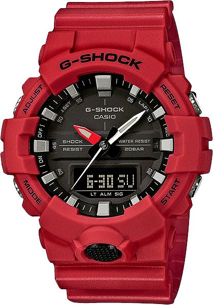 цена на Casio G-shock GA-800-4A