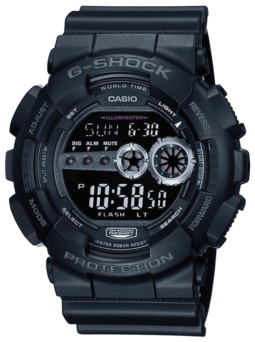 Casio G-shock G-Classic GD-100-1B casio gd 400 4