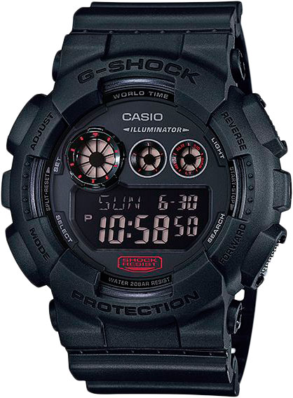 Casio G-shock GD-120MB-1E часы casio gd 400 1e