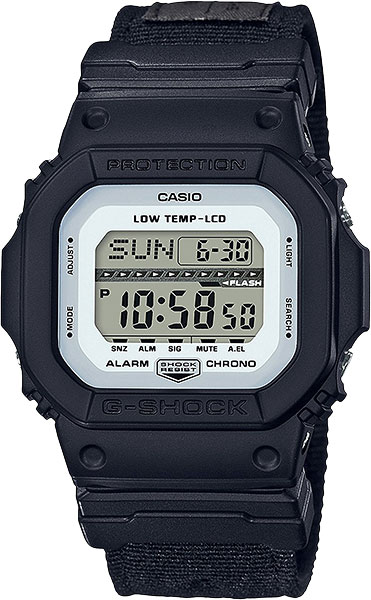 Casio G-shock G-Lide GLS-5600CL-1E часы casio g shock gw m5610bb 1e black