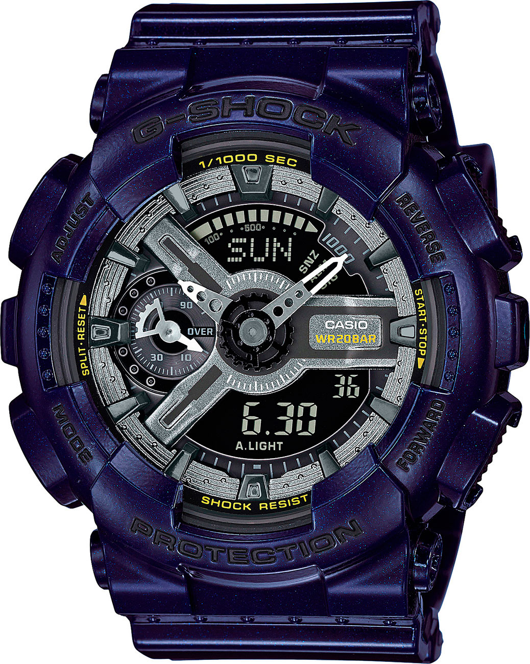 Casio G-shock S Series GMA-S110MC-2A часы женские casio g shock gma s110mp 4a3 pink